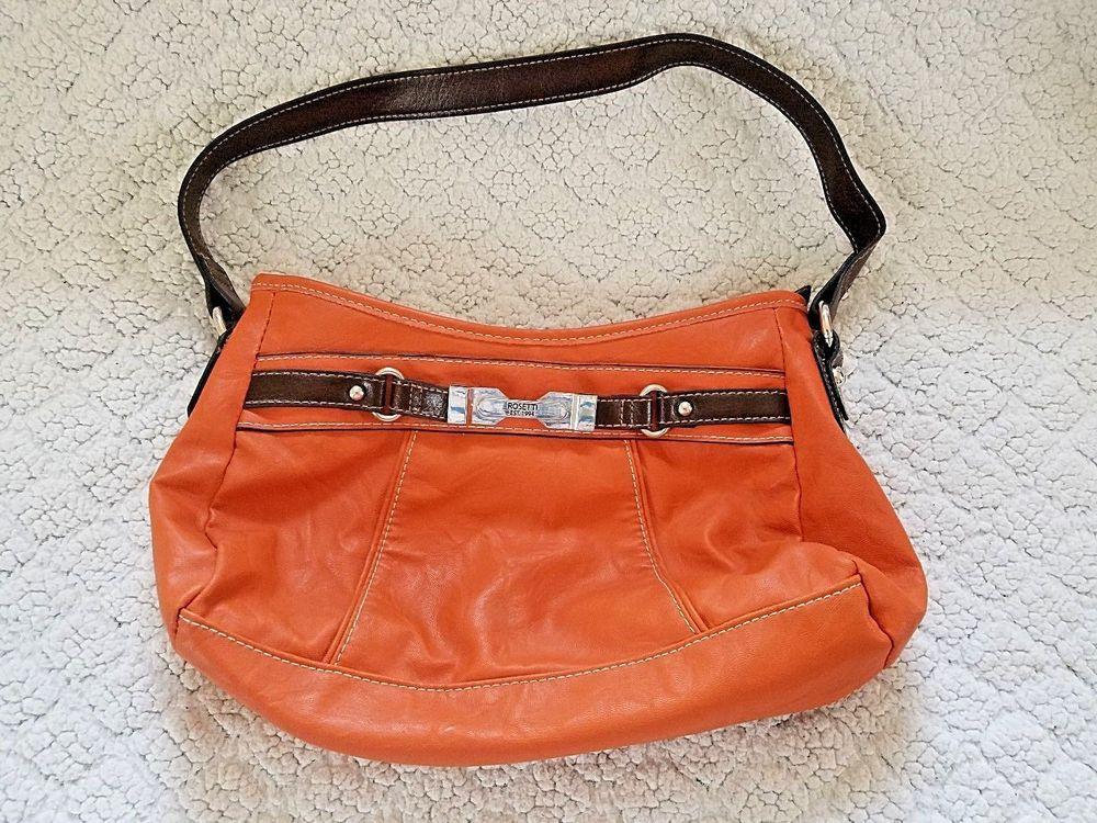 2d04778408 Rosetti Handbag Satchel Bag Orange 11