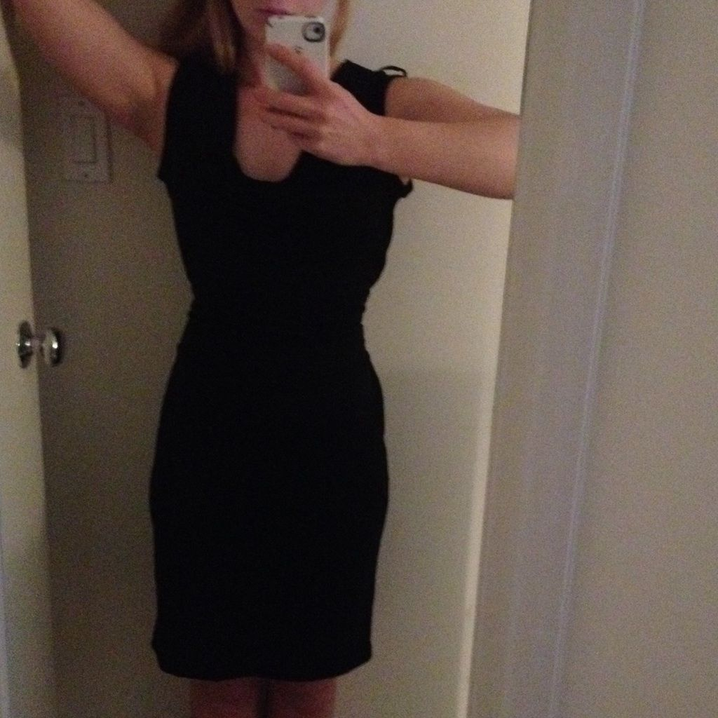 Black Wrinkle Resistant Dress The Limited Xs