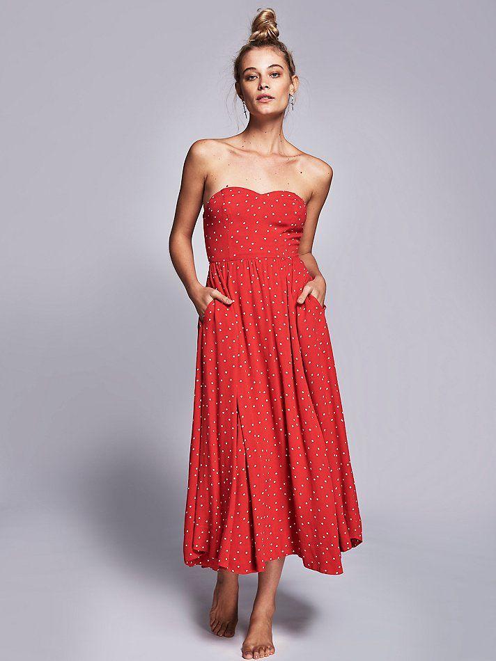 Bella Donna Polka Dot Midi Dress | Fashion | Pinterest