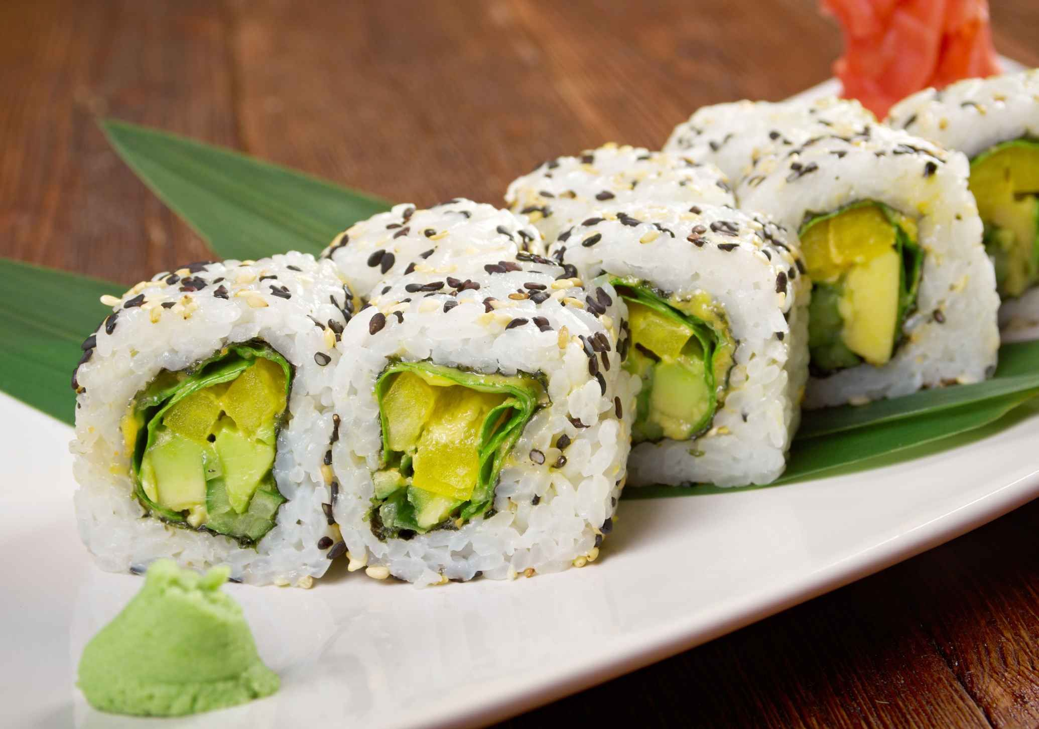 Can Pregnant Women Have Vegetable Sushi? | Vegetarian ...