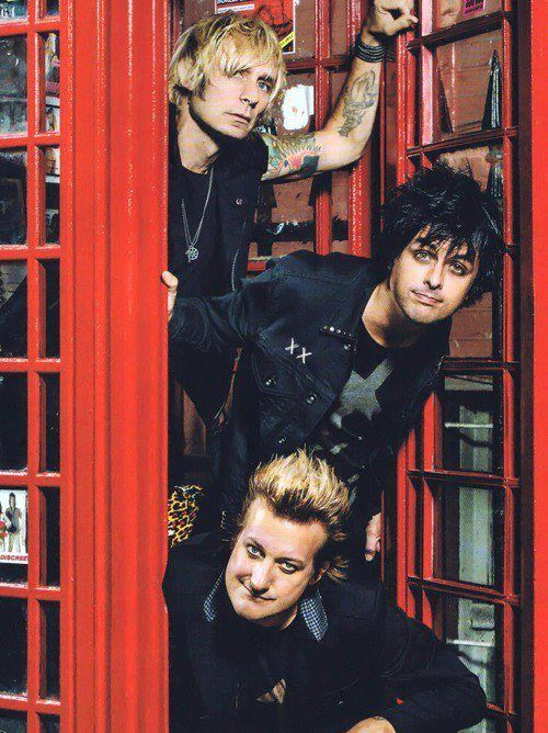 Green Day -- American punk rock band formed in 1987. The band consists of lead vocalist and guitarist Billie Joe Armstrong, bassist & backing vocalist Mike Dirnt, drummer Tré Cool, & guitarist & backing vocalist, Jason White. Green Day was originally part of the punk scene at the DIY 924 Gilman Street club in Berkeley, California. Fav of #pop2life Web App Developer, Brandon Ching