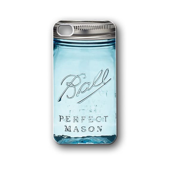 ball mason jar - iPhone 4,4S,5,5S,5C, Case - Samsung Galaxy S3,S4,NOTE,Mini, Cover, Accessories,Gift