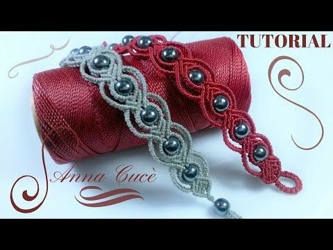 "Photo of Macrame Bracelet Tutorials ""Tiziana"" / Diy Tutorial / Step by Step – #Ar …"