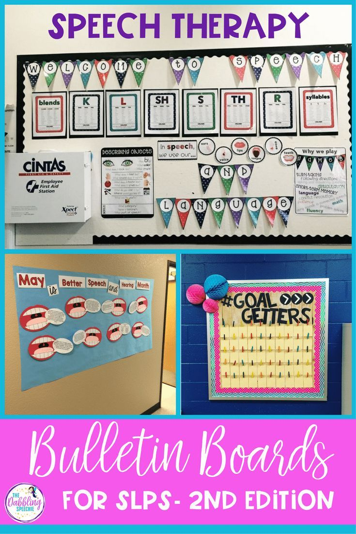 Functional Speech Therapy Bulletin Boards For SLPs Second Edition images