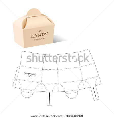 Retail box with blueprint template lazos de papel pinterest retail box with blueprint template buy this stock vector on shutterstock find other images malvernweather Images