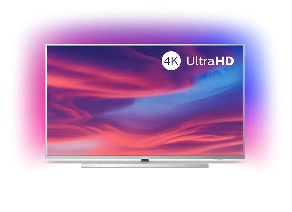 Smart Tv 4k De 50 Pulgadas Philips 50pus7304 12 Con Android Tv Y