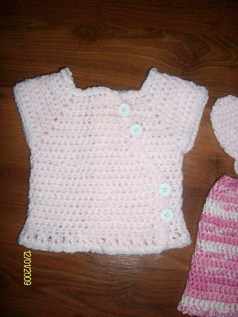 Ravelry: Preemie / Newborn Wrap Diaper Shirt pattern by Michelle ...