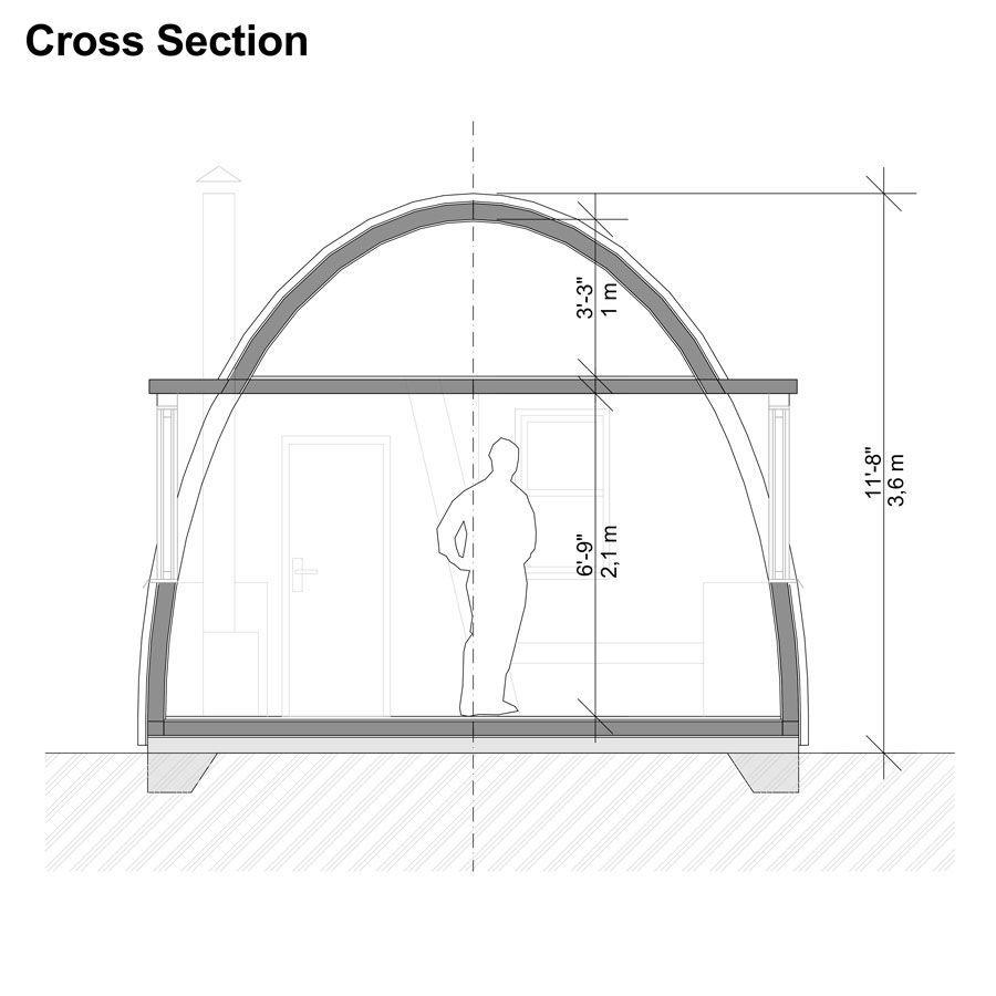 Pod House Plans Aria Di 2020 Desain Rumah Desain Rumah Minimalis