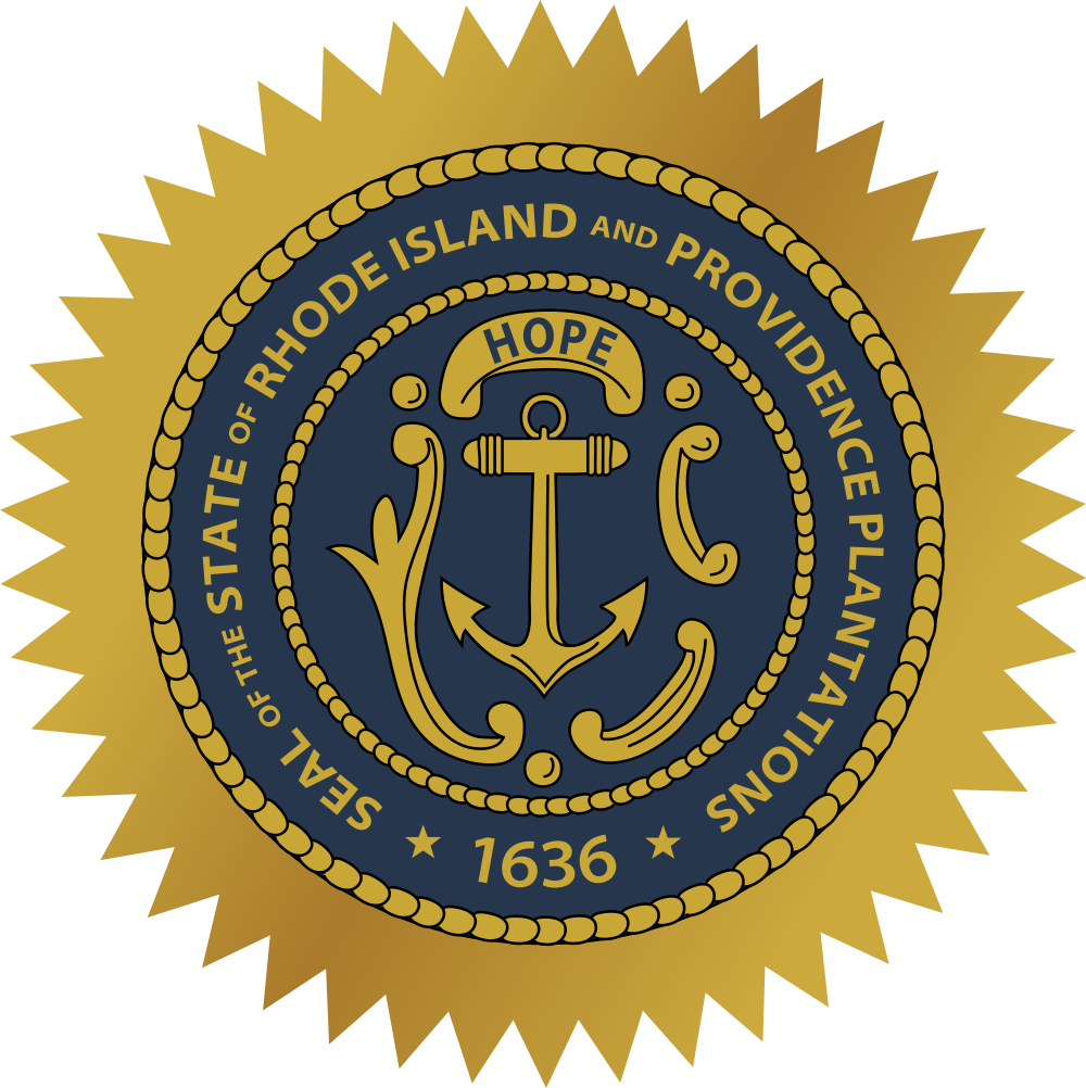 Rhode island and providence plantations seal of the state of rhode island and providence plantations seal of the state of biocorpaavc Choice Image
