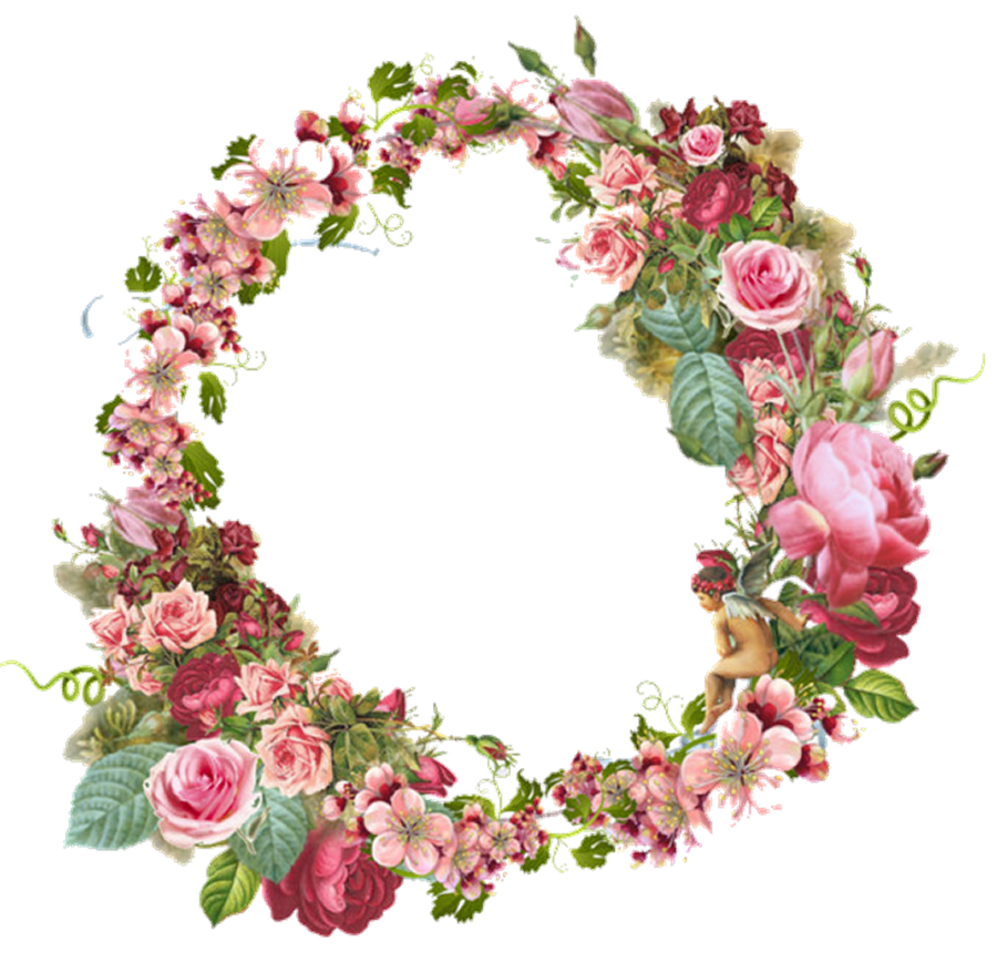 Vintage Gold And Silver Frame Oval By Eveyd On Deviantart Vintage Flowers Flower Frame Flower Border