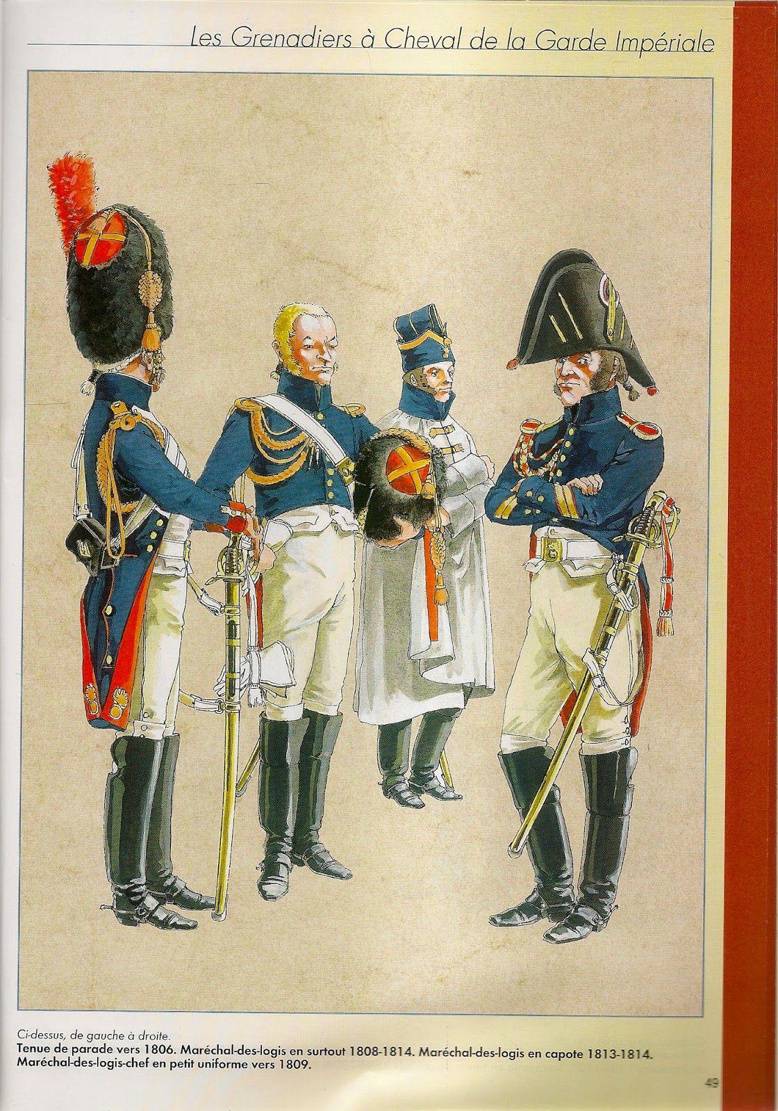 MINIATURAS MILITARES POR ALFONS CÀNOVAS: LES GRENADIERS A CHEVAL ( 1804-1815) DE LA GARDE IMPERIAL.por Mchel PETARD.