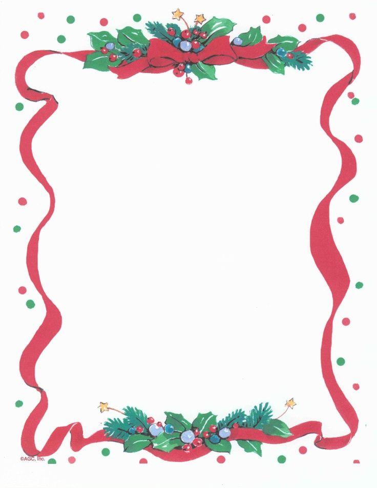 Nice Free Holiday Stationery Templates Model - Resume Ideas