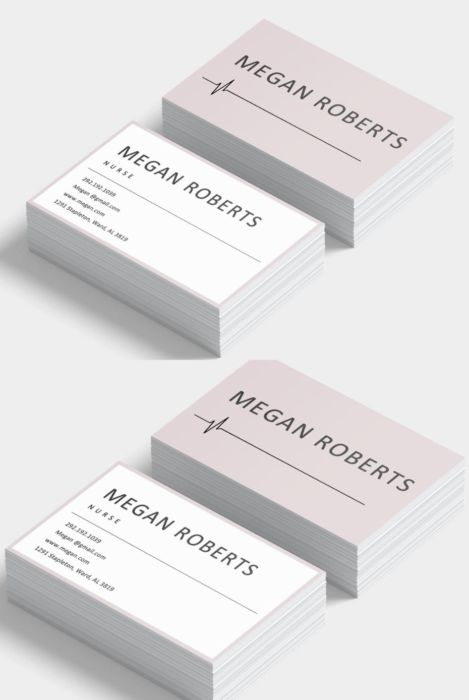 Nursing Business Cards Custom Business Card Custom Business Cards Modern Business Cards Business Cards