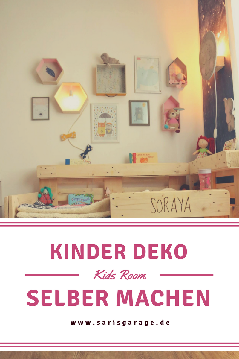 How To, Kinderbett Selber Bauen, Bett Aus Europaletten, Palettenbett, Deko  Für Kinderzimmer
