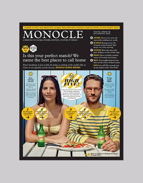 Monocle Magazine Issue 85, Volume 8 - July 2015 | Monocle ...