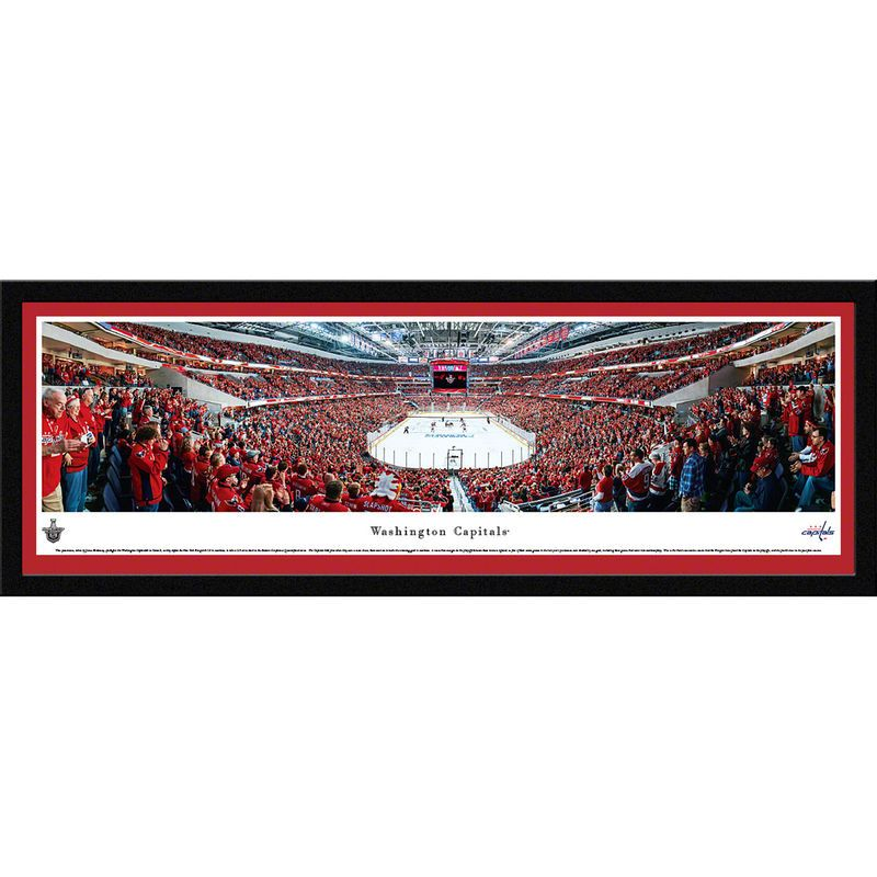 "Washington Capitals 15.5"" x 42"" Select Framed Panoramic"