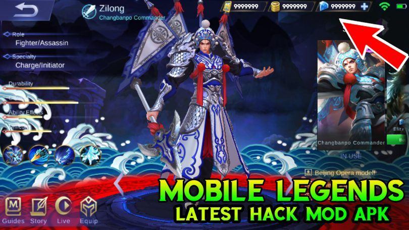 Mobile Legends v1 2 88 2954 Mod Apk (Unlimited Diamonds