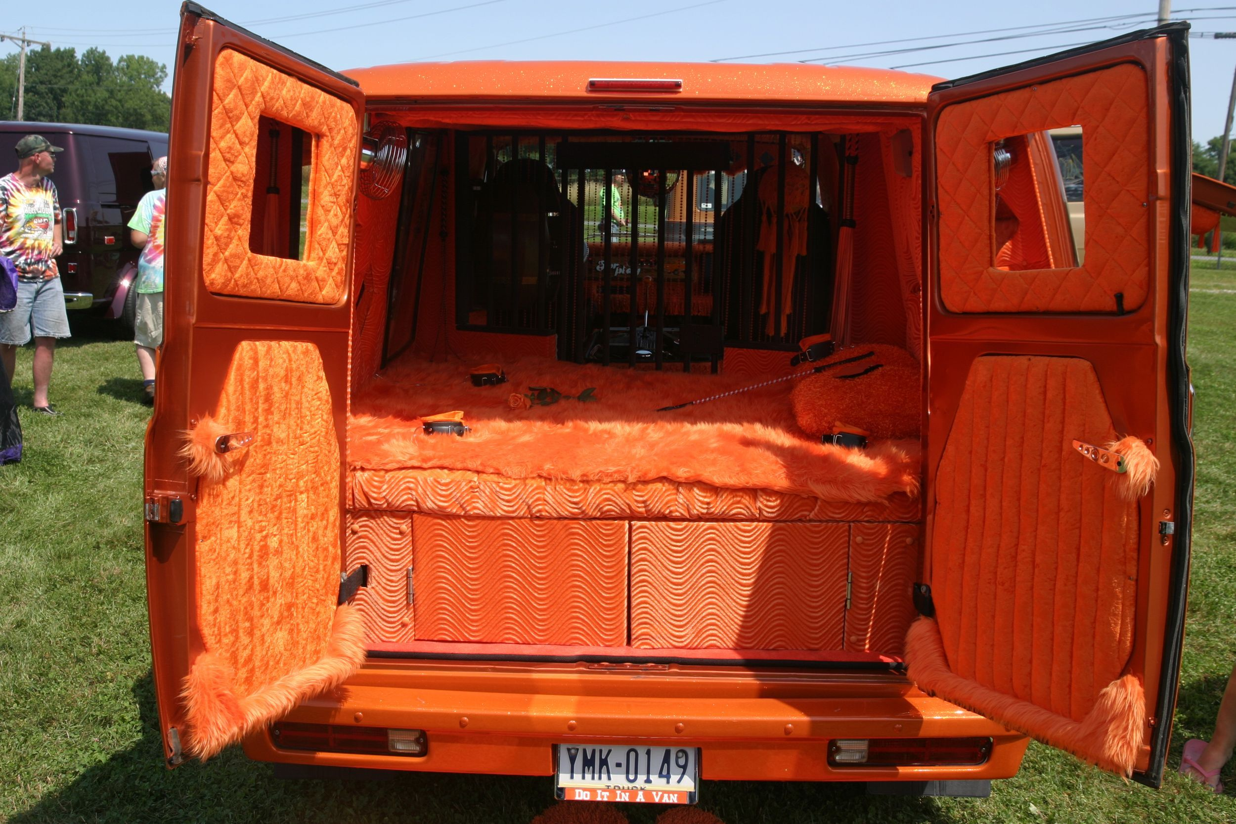 70s Conversion Van Interior