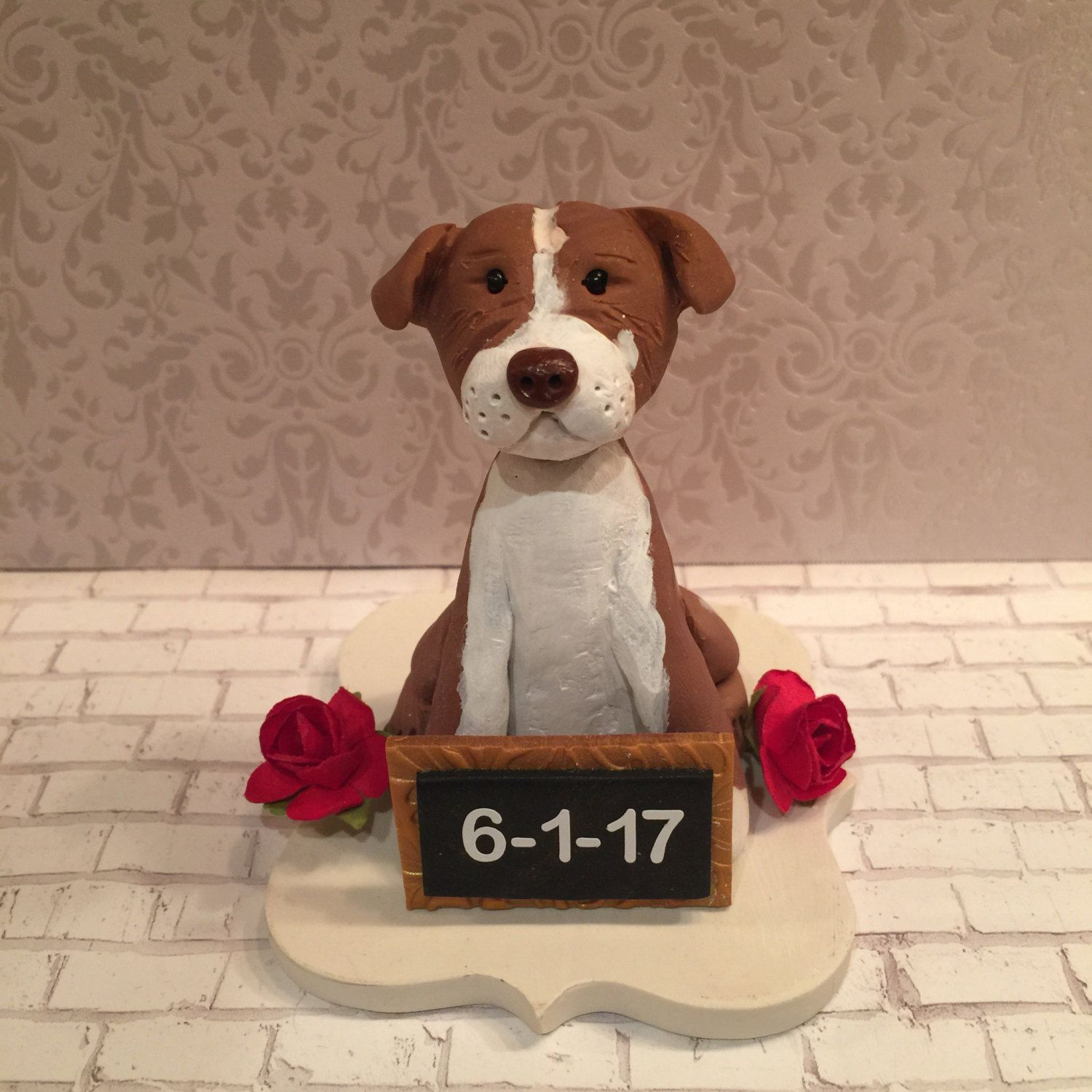 Polymer clay Pet cake topper,pet hospital, Veterinerian,dogs, Yorkie ...