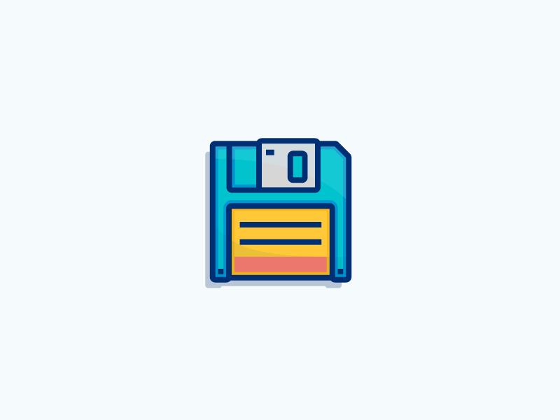 Retro Save The Floppy Disk Graphic Design Inspiration Graphic Design Logo Graphic Design Trends