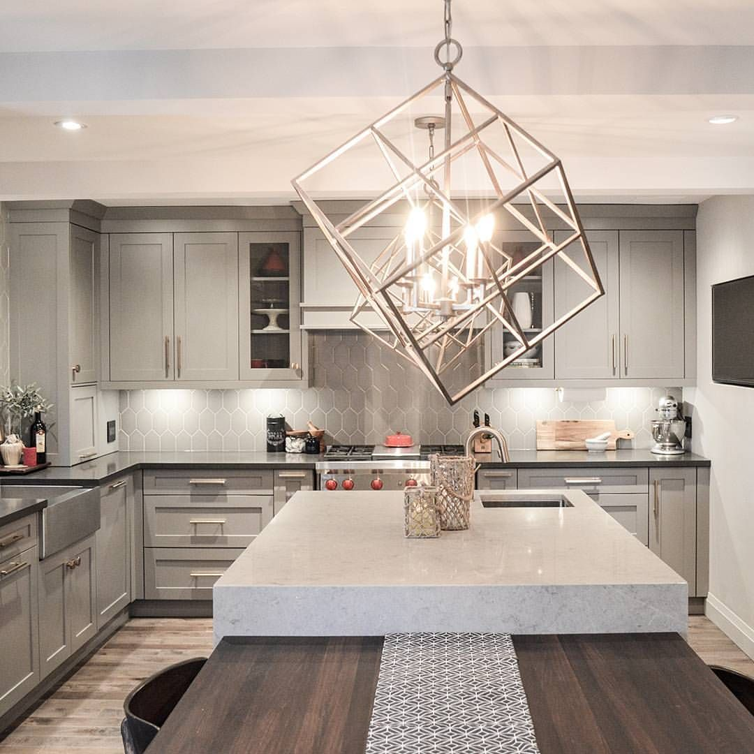 we wished upon a star and our dreams came true this expansive kitchen is designed to a t with raven along the perimeter and symphony grey on the island