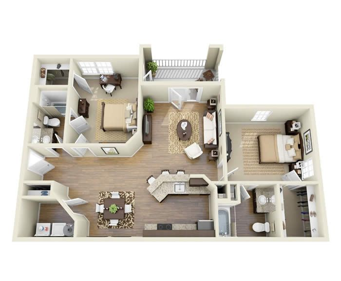 2bed Plan Like Floor Plans Apartment Floor Plans House Layout Plans