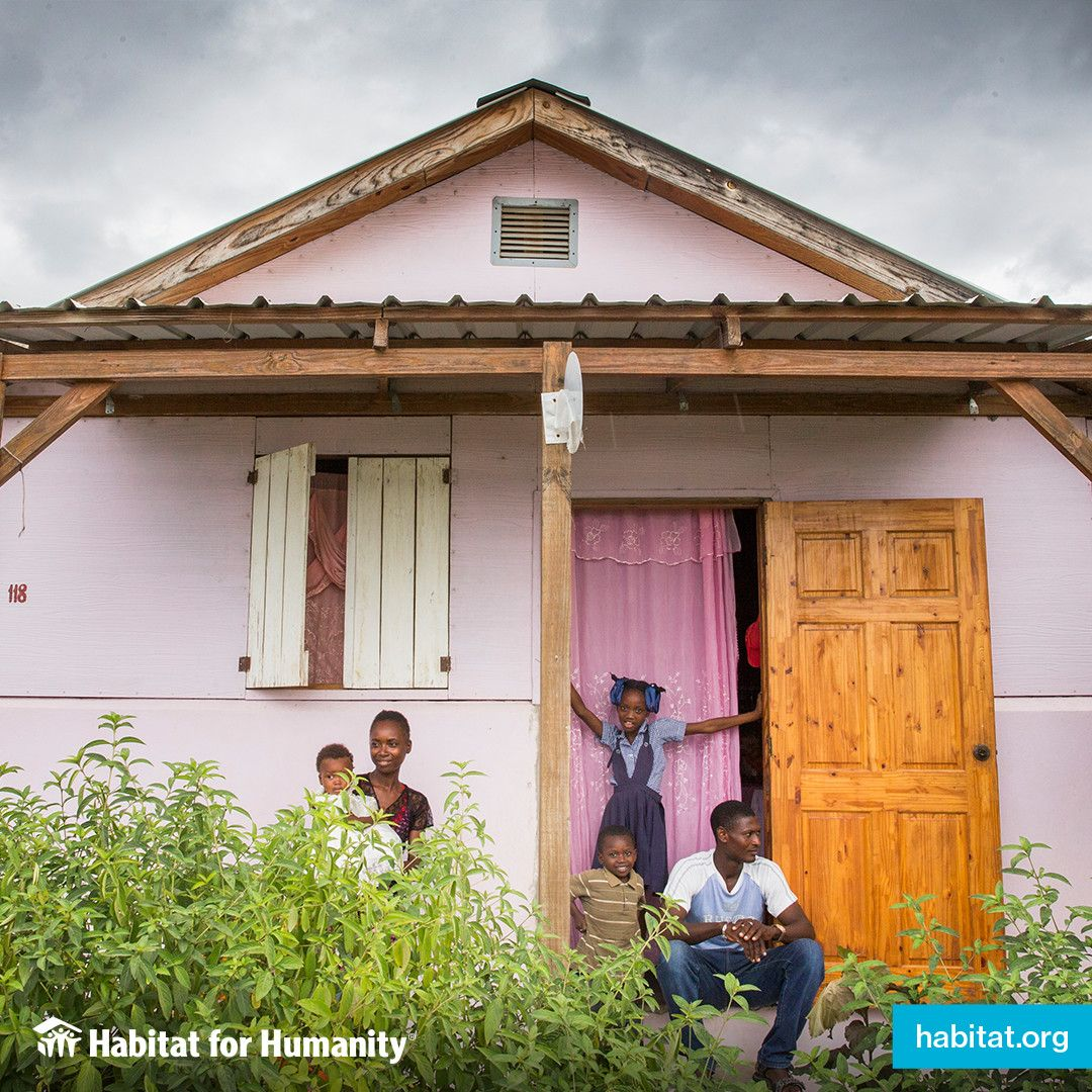Habitat For Humanity Has Worked In Latin America And The Caribbean Since 1979 To Help Ensure That Children Have A Decent Habitat For Humanity Habitats America
