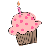 Birthday cake clear background. Clipart no google search