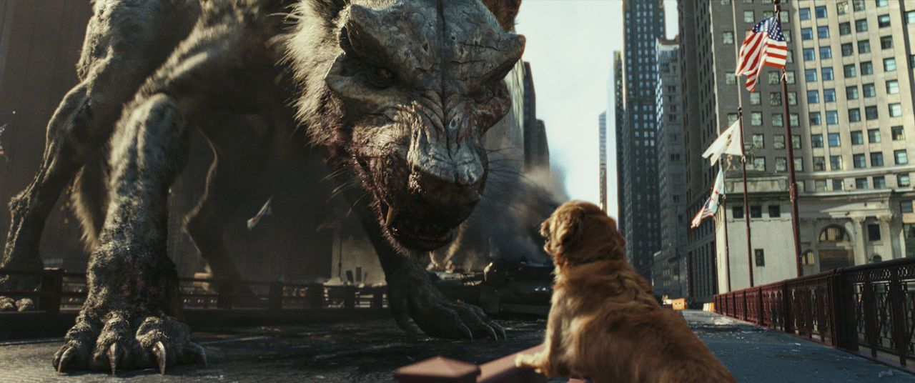We can't be friends if the wolf eats the dog, Rampage