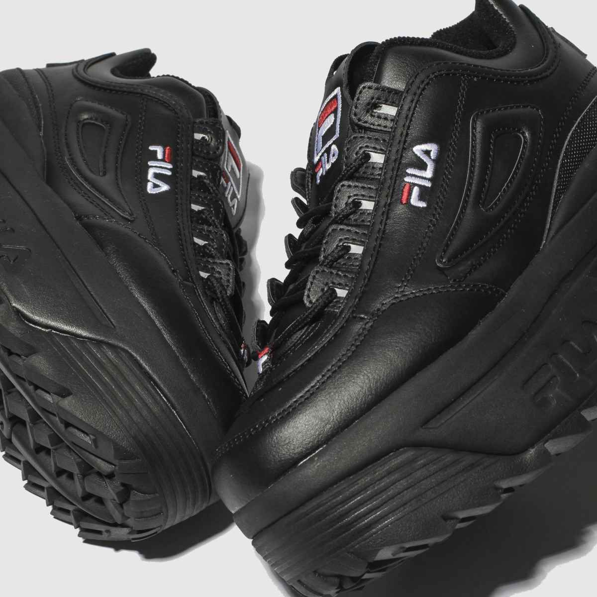 Fila Disruptor Halfsandal W shoes black