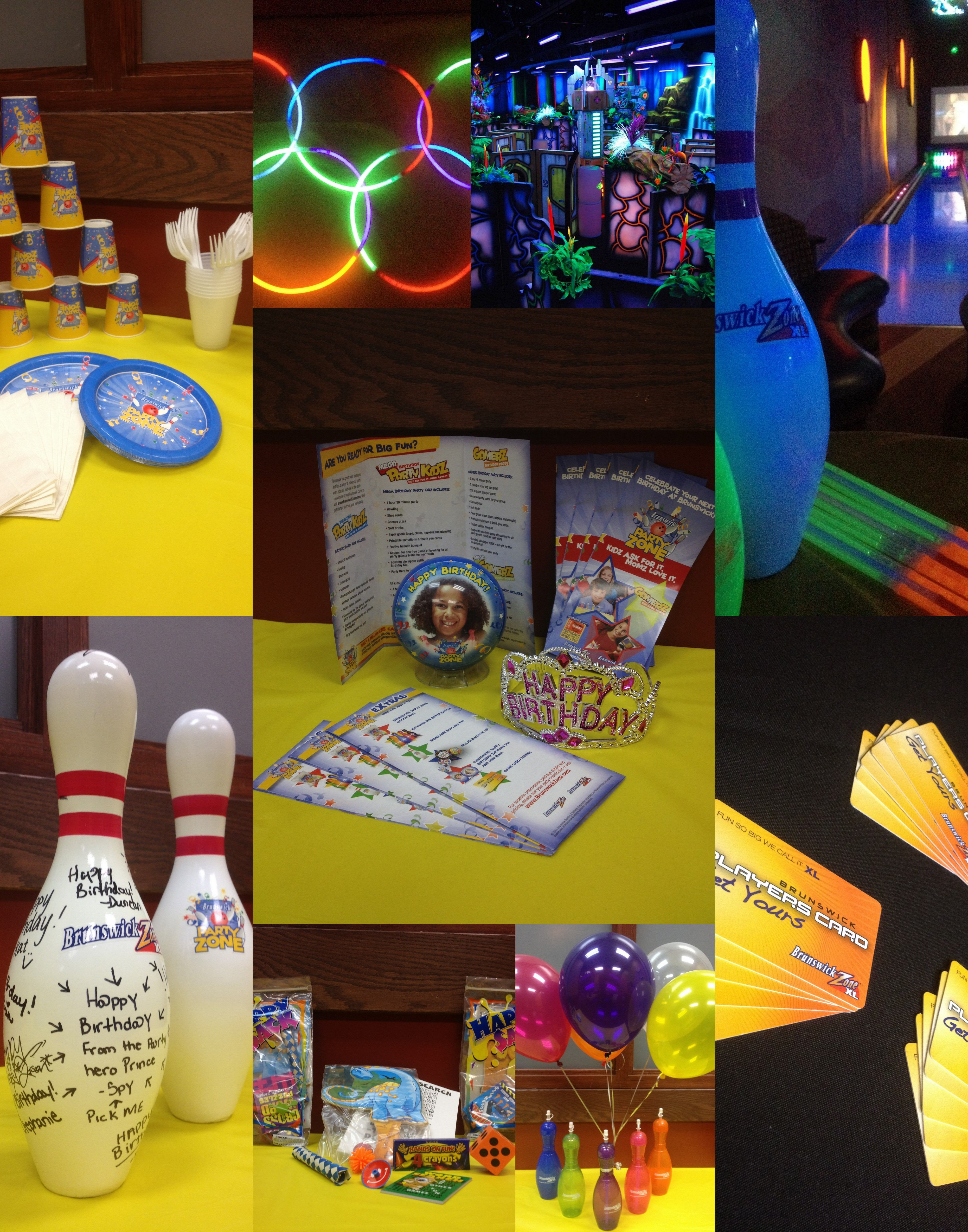 picture about Brunswick Zone Printable Coupon called Birthday Get-togethers!! Brunswick Zone XL-Kennesaw Shine get together