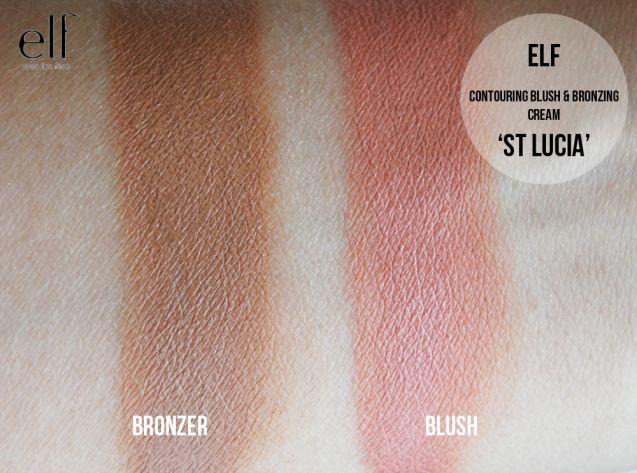 Elf blush bronzer duo st lucia