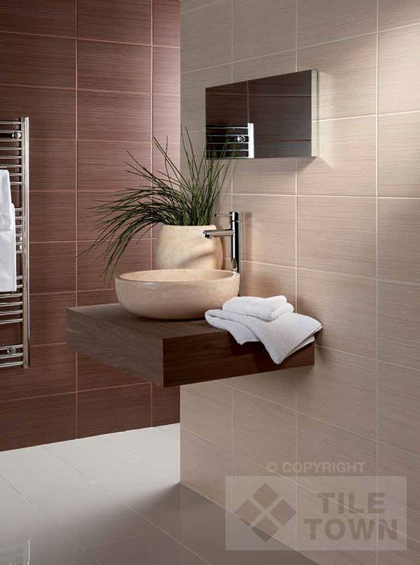 Zamora Neutral Brown Bathroom Wall Tile Bring A Chic Ultramodern Look To Your Walls With This Range Of Tiles From British Ceramic