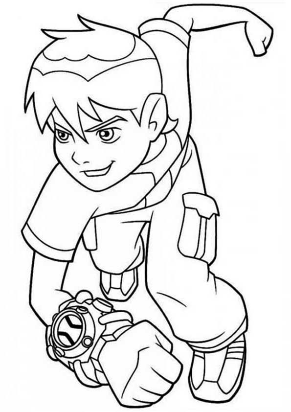 Print coloring image ben 10 and kids colouring 20 amazing ben 10 coloring pages your toddler will love voltagebd Image collections