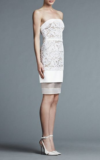 J. Mendel Bridal Look 3 on Moda Operandi | M\'O Bridal | Pinterest ...