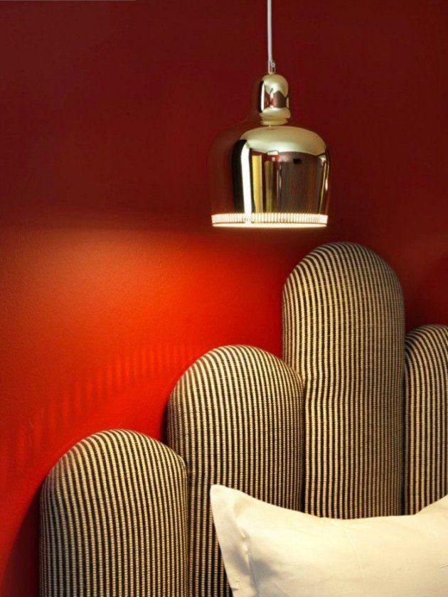 Dorothée Meilichzon, Designer de lu0027année Maison \ Objet Paris - couleur chaude pour une chambre