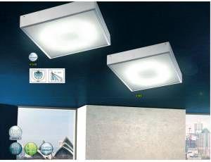 Plafoniera Led Con Sensore : Cato plafoniera a led da parete o soffitto
