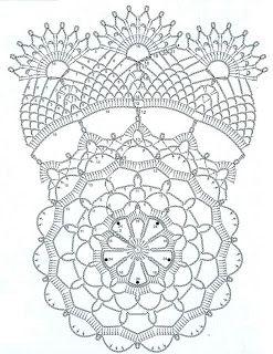 Crochet Doily Free Pattern Uzory Kryuchkom Crochet Doilies