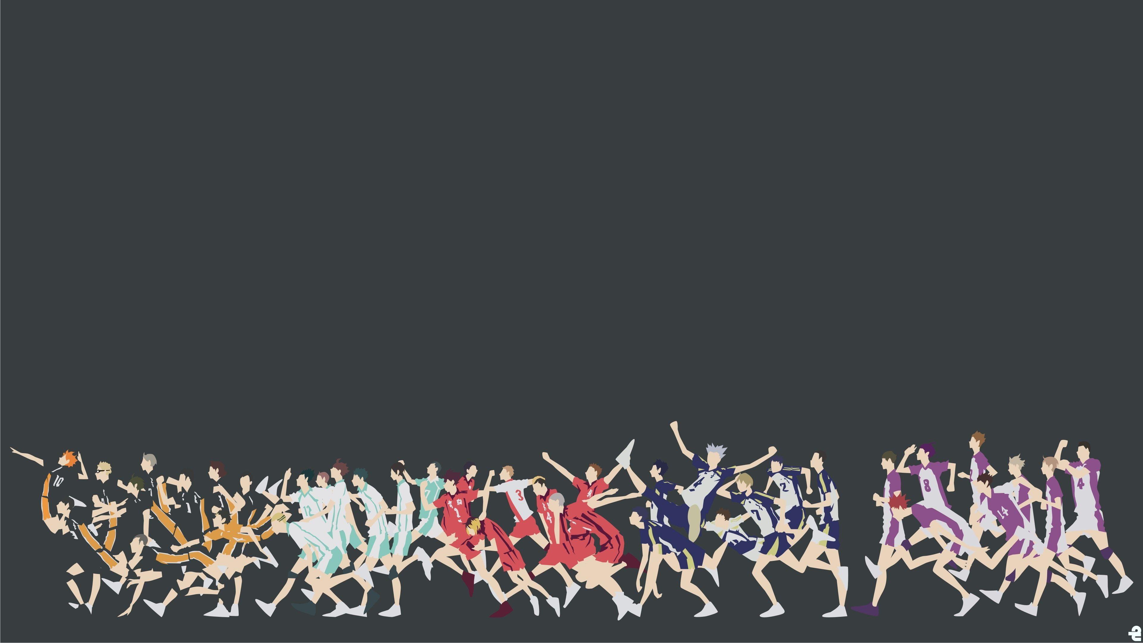 Haikyu 4k Hi Res 4k Wallpaper Hdwallpaper Desktop In 2020 Haikyuu Wallpaper Haikyuu Karasuno Haikyu