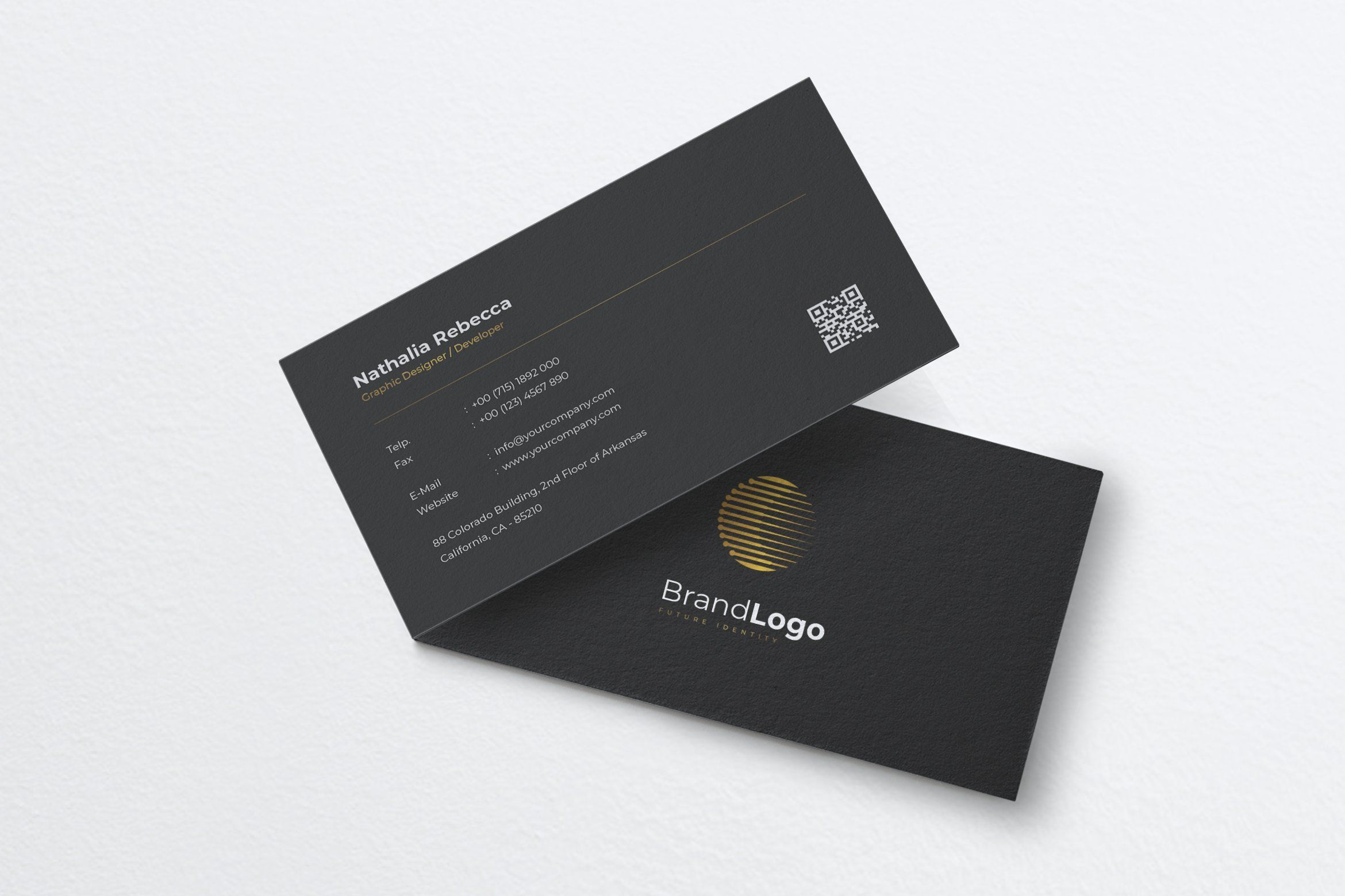 Minimal Business Card Template A Highly Detailed Simplistic Modern And Profess Minimalist Business Cards Business Card Psd Free Free Business Card Templates