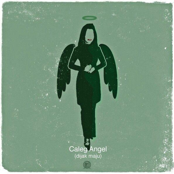 Caleg Angel (Dijak maju)