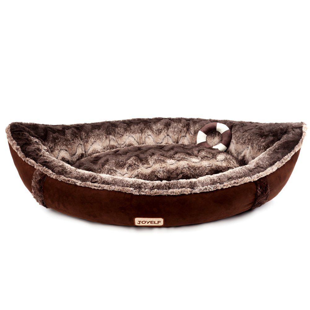 Joyelf Medium Orthopedic Dog Bed With Washable Cover Pirate Ship Dog Bed For Small To Medium Dogs And Toys As Gift Soft Dog Beds Orthopedic Dog Bed Ship Dog