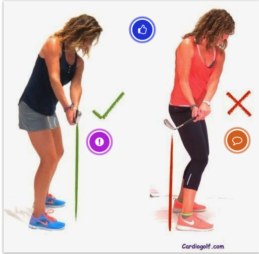 With A Correct Golf Grip Your Hand And Wrist Should Rotate The Club Head So It Stays Square To The Body Throughout The Golf Tips Golf Grip Ladies Golf Clubs
