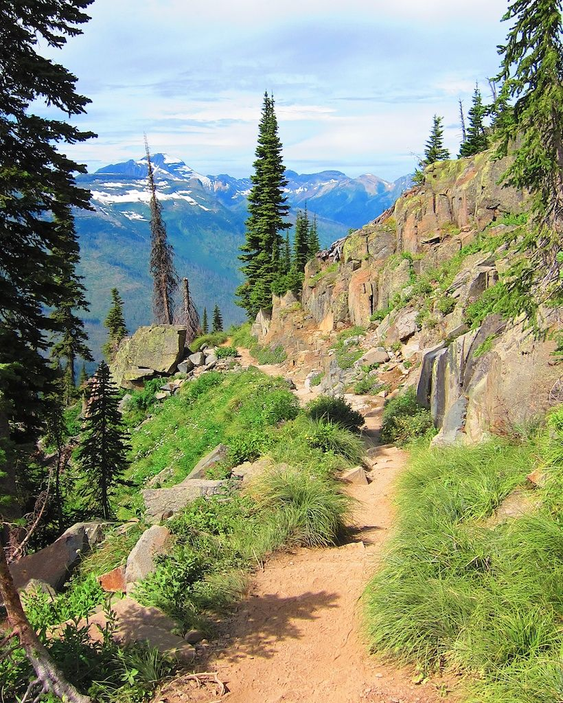 Places To Visit In Montana Usa: Hike The Highline Trail, Glacier National Park, Montana
