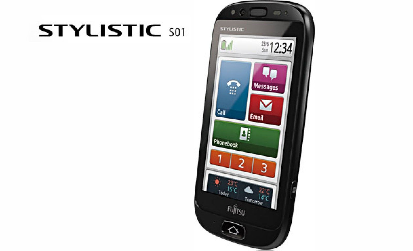 Fujitsu Stylistic S01 Smartphone Sistemas De Seguridad Tecnologia