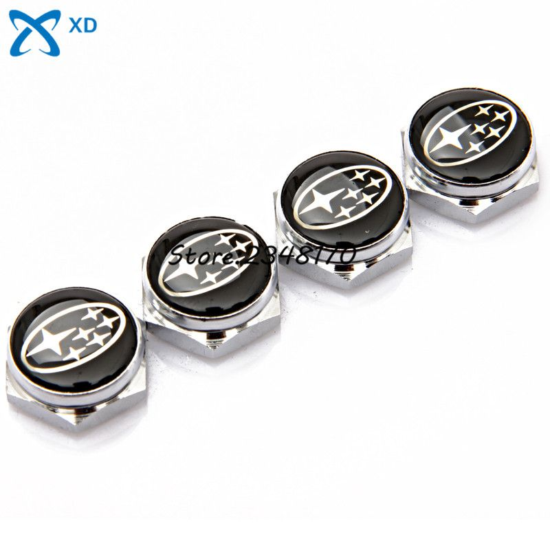 check price car styling stainless steel car license plate bolts ...