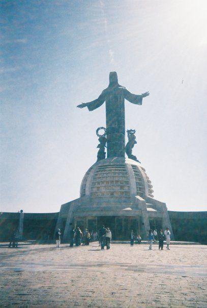 Cristo Rey, El Cubilete, Guanajuato, Mexico.