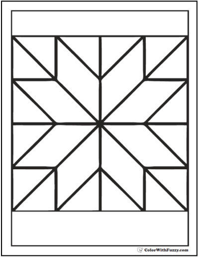 25 Best Ideas About Barn Quilt Pattern Coloring Pages Geometric Coloring Pages Free Quilt Patterns Printables