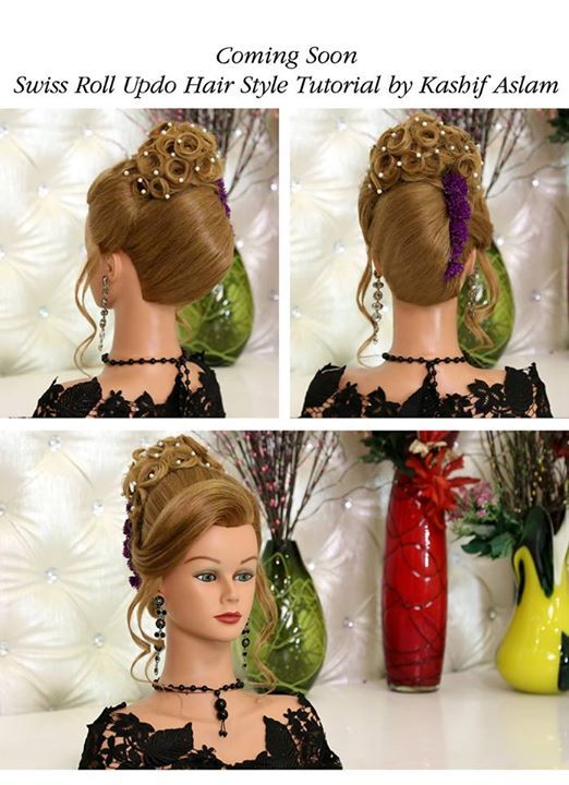 Pin By Kashees Beauty Parlor On Kashee S Glamorous Hair Styling Glamorous Hair Hair Styles Hair Tutorial