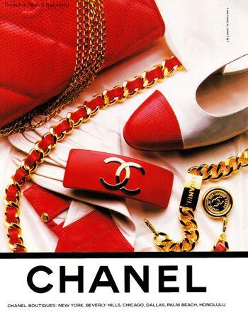Love This 80 S Chanel Magazine Ad